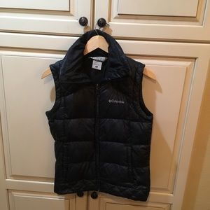 Columbia omni-shield down puffer vest xs